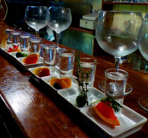 The Gin Tasting Menu November 2012