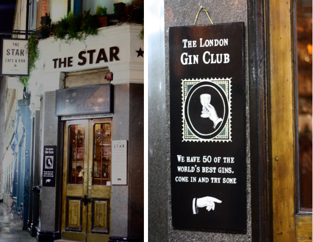 The London Gin Club at The Star at Night