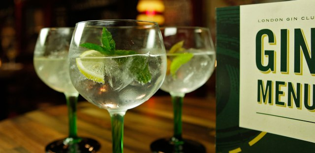Perfect serve Gin and Tonics