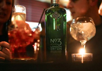 a table at the london gin club