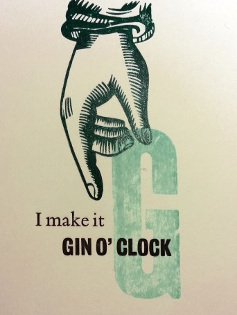 It's always gin o'clock