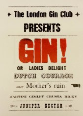 A few of the names for gin