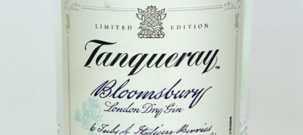 Gin review : Tanqueray Bloomsbury 47 3% – The London Gin Club