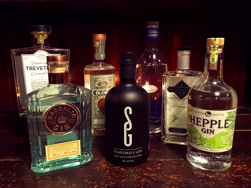 New Gins 2016