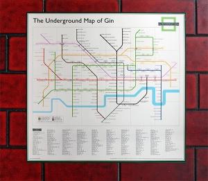 underground map poster