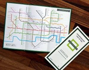 underground map trifold